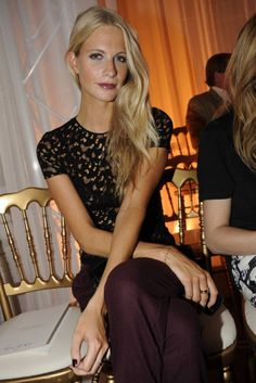 Poppy Delevigne obsessed with this look.