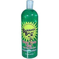 Bahama Balm 16oz Aloe Vera Gel After Sun Skin Care by BAHAMA BALM. $4.19. aloe vera gel. after sun care. 160z bottle