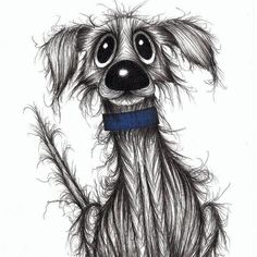 Smelly dog Cute but stinky pooch original drawing by Keith Mills via Etsy. Cartoon Dog, Cartoon Drawings, Animal Drawings, Pencil Drawings, Art Drawings, Art And Illustration, Illustrations, Smelly Dog, Art Graphique