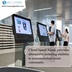 #Cloud based #Kiosk provides alternative ordering #stations to accommodate more #customers. #TucanaGlobalTechnology #Manufacturer #HongKong