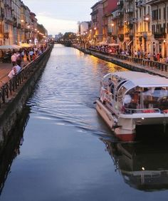Navigli Grande, at the city's south end, is a perfect spot for an end-of-day stroll.