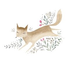 Fox design by Julianna Swaney
