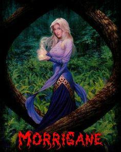 Morrigane,la méchante de l'histoire.