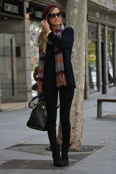 scarves to have a cute style