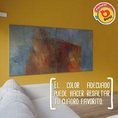 Una buena combinación de color puede ayudarte a resaltar tus elementos de decoración.
