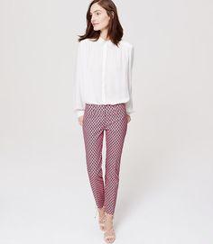 Image of Geo Riviera Cropped Pants in Marisa Fit