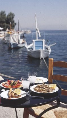 "VISIT GREECE| The ""plate"" to be!  Let's spoil ourselves with some greek delights! VISIT GREECE
