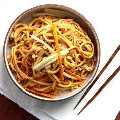 Cold Sesame Noodles Recipe - Saveur.com