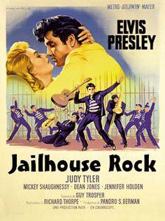 This week in 1957: Elvis started filming his third movie, Jailhouse Rock