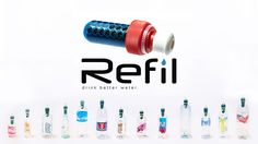 REFIL V1 - Universal Beverage Bottle Water Filter project video thumbnail