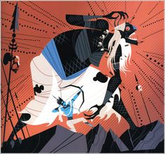 Sanjay Patel illustration for the Ramayana