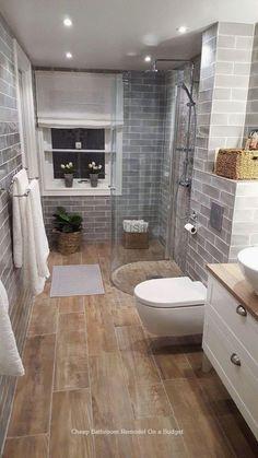 Modern Farmhouse, Rustic Modern, Classic, light and airy master bathroom design tips. Bathroom makeover ideas and master bathroom renovation tips. Small Bathroom Renovations, Small Bathroom, Minimalist Bathroom, Bathroom Renovation, Bathroom Decor, Shower Remodel, Bathroom Remodel Shower, Bathrooms Remodel, Bathroom Makeover
