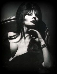 Elvira Mistress of the Dark (Cassandra Peterson) Cassandra Peterson, Broly Ssj3, Elvira Movies, Dark Romance, Art Beauté, Goth Beauty, Classic Monsters, Actrices Hollywood, Gothic Girls