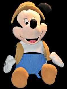 "Disneyland Walt Disney World MICKEY MOUSE Plush 19"" Matterhorn Stuffed Animal #disneyland #disney #mickeymouseplush #matterhorn"