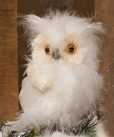 Another great find on #zulily! White Owl Ornament #zulilyfinds