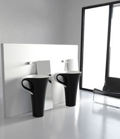 Bring some pizzazz to the bathroom with a chic, artistic washbasin by Artceram. The art basin Cup, designed by Meneghello Paolelli Associati, is indeed a unique basin design inspired...