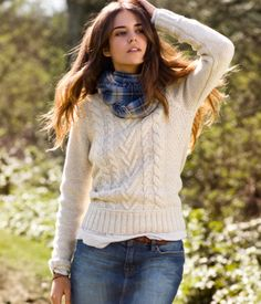 @Heather Thomas Lakes - I think something like this would be really cute with your belt and boots (though maybe a less-patterned sweater and simler scarf/no scarf)