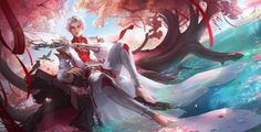 the world of digital art Mobile Legend Wallpaper, Hero Wallpaper, Fantasy Princess, Painting Words, Korean Art, Mobile Legends, Boy Art, Ancient Art, Chinese Art