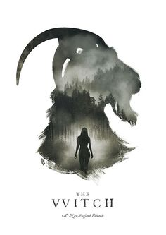 The Witch - Poster Tribute on Behance Horror Movie Posters, Movie Poster Art, Horror Films, Film Posters, The Witch Poster, The Witch Movie, Cult Movies, Scary Movies, Black Phillip