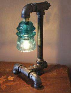 Pipe lamp- 3dfirstaid visual architecture