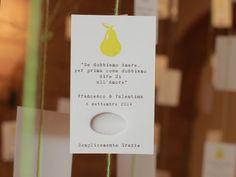 Un matrimonio ispirato all'arte e al design: Valentina e Francesco