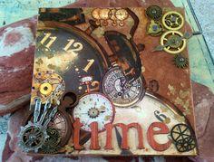 steampunk altered art