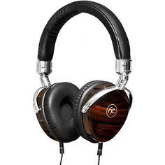 Floyd Rose Wood Headphones w/ Case - Black Audiophile Headphones, Headset, Floyd Rose, Over Ear Headphones, Luxury, Wood, Stuff To Buy, Black, Walmart