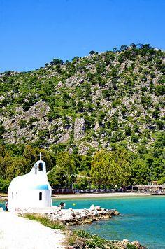 Grèce, Corinthie, ΛΟΥΤΡΆΚΙ LOUTRAKI  Vouliagmeni Lake Lac de Vouliagmeni por paspog