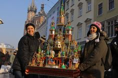 Christmas cribs contest. Cracow, Poland, 2010.  First contest was in 1937. (Photo from www.mmkrakow.pl)