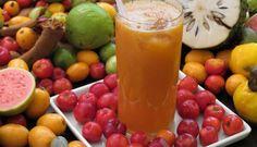 Suco de Laranja com Acerola - PortalNamira.com