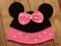 Hey, I found this really awesome Etsy listing at https://www.etsy.com/listing/156705354/minni-mouse-mickey-mouse-hats-made-to