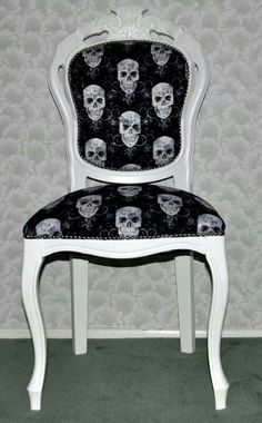 Old chair, new life!