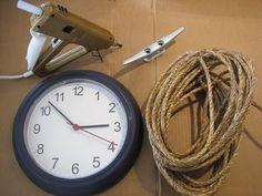 Coastal Wall Clock - DIY #BHGSummer