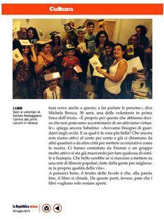 La Repubblica Sera dedica sette pagine al nostro progetto. #iocistolibreria #lalibreriaditutti #larepubblica #napoli #books #libri #italy   http://www.iocistolibreria.it