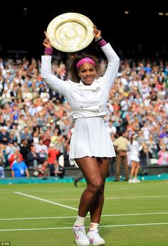 She's done it again! Serena Williams wins her fifth Wimbledon title as she draws level with sister Venus