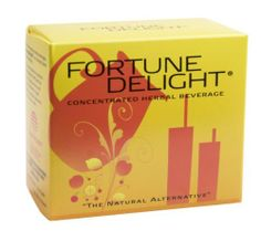 Fortune Delight®, Peach, 10/3g Packs by Sunrider International. Similar to Calli® in providing antioxidant benefits, Fortune Delight® concentrated and comes in powder form. Catechins are naturally occurring polyphenol chemicals found in Camellia extract, the primary ingredient in Fortune Delight®. These antioxidants have been shown effective in absorbing damaging free radicals. Fortune Delight is a modern breakthrough in the history of tea. ...