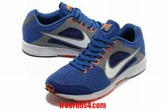 Nike Lunarspider LT 2 Mens Royal Blue Silver Red 555395 410