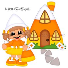 Candy Corn Cutie Halloween Templates, Halloween Clipart, Halloween Patterns, Halloween Projects, Halloween Kids, Halloween Candy, Cheap Halloween Decorations, Halloween Themes, Candy Corn Costume