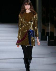 Saint Laurent AW14 Party Embellishments | StyleNest