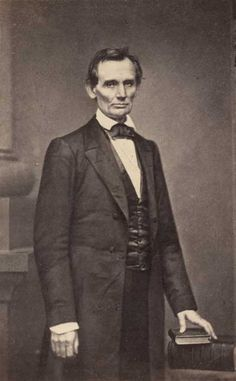 Abraham Lincoln...a lesson in how perseverance and dedication to a cause can change the world...what a great man!