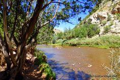 The Good Luck Duck: Villanueva State Park and Santa Rosa Lake State Park, New Mexico