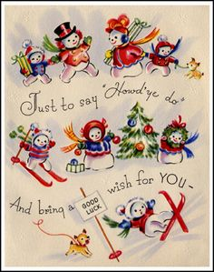 So cute Christmas Greeting