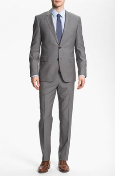 BOSS HUGO BOSS 'James/Sharp' Trim Fit Wool Suit available at #Nordstrom