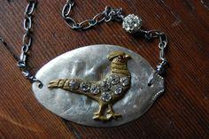 Pheasant Hunt Necklace Pheasant Hunting, Pendant Necklace, Jewelry, Fashion, Jewellery Making, Moda, Jewerly, Jewelery, Fashion Styles