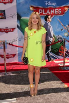"""LOS ANGELES - AUG 5:  Taylor Spreitler arrives at the """"Planes"""" World Premiere at the El Capitan on August 5, 2013 in Los Angeles, CA"""