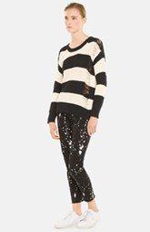 sandro 'Soul' Stripe Cotton Sweater