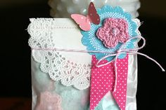 ** Chic Tags- delightful paper tag **: Friday Favorites- Baby Shower Candy Buffet & favor bags