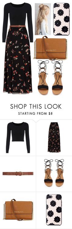 """""""Cute"""" by rhianna-alexandre on Polyvore featuring RED Valentino, Dorothy Perkins, Michael Kors and Kate Spade"""