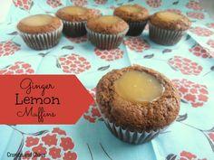 Ginger Lemon Muffins   Crumbs and Chaos #muffins #breakfast #lemon   www.crumbsandchaos.net