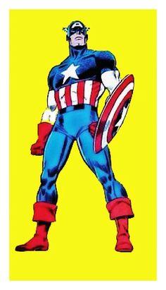Captain America by John Romita Sr.